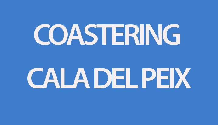 coastering cala del peix